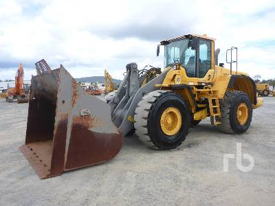 2010 VOLVO L180F Wheel Loader