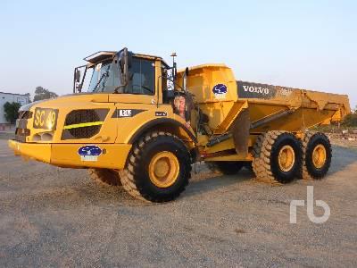 2013 VOLVO A30F 6x6 Articulated Dump Truck