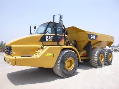 2010 CATERPILLAR 740 6x6 Articulated Dump Truck