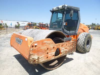 2012 HAMM 3520 Vibratory Roller