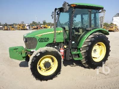 2011 JOHN DEERE 5101E MFWD Tractor