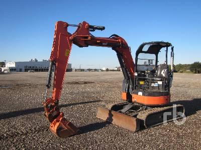2014 HITACHI ZX40UR-3U Mini Excavator (1 - 4.9 Tons)