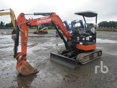 2010 HITACHI ZX30U-3 Mini Excavator (1 - 4.9 Tons)