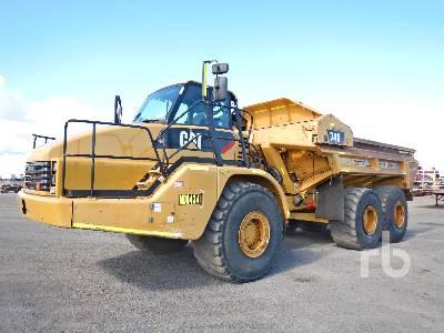 Caterpillar 740 Articulated Dump Truck Specs & Dimensions