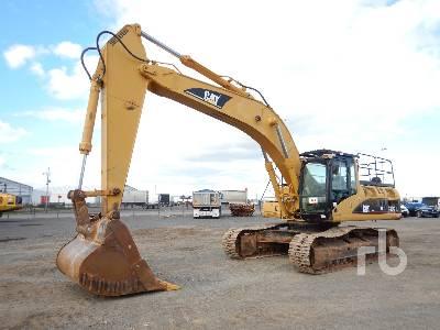 Caterpillar 320B L Hydraulic Excavator Specs & Dimensions