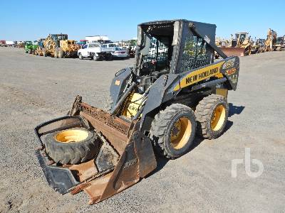 New Holland L150 Skid Steer Loader Specs & Dimensions