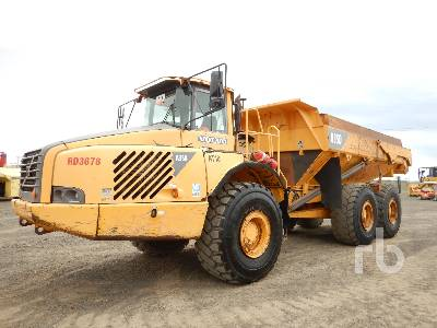 2000 VOLVO A35D 6x6 Articulated Dump Truck