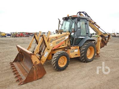 2001 CASE 580LPS 4x4 Loader Backhoe