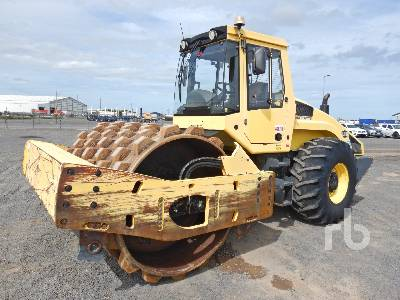 2009 BOMAG BW219PDH-4 Vibratory Padfoot Compactor