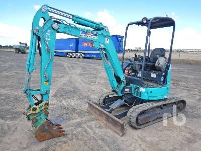 2015 KOBELCO SK25SR-6E Mini Excavator (1 - 4.9 Tons)