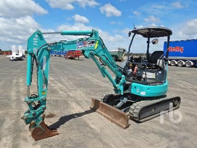 2015 KOBELCO SK28SR-6 Mini Excavator (1 - 4.9 Tons)