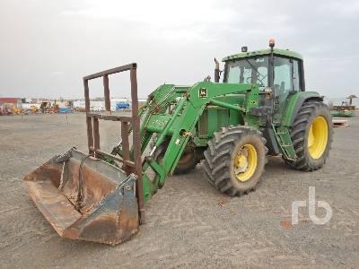 1997 JOHN DEERE 6510 MFWD Tractor