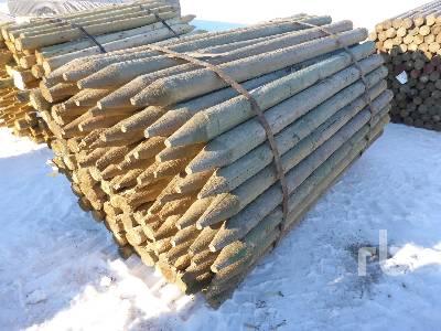 UNUSED 6 Ft Pressure Treated Fence Posts Lumber | Ritchie