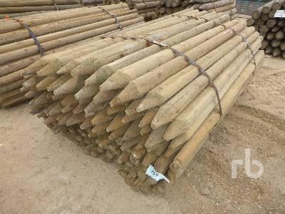 UNUSED 7 Ft Pressure Treated Fence Posts Lumber | Ritchie