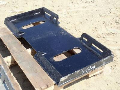 UNUSED MID STATE Quick Attach Plate Skid Steer Mount Plate
