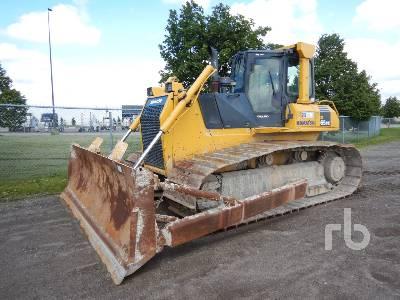 Komatsu D85EX-15 Crawler Tractor Specs & Dimensions :: RitchieSpecs