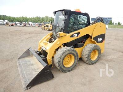 2007 caterpillar 246c 2 spd high flow skid steer loader