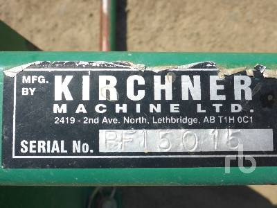 KIRCHNER Tractor Bale Fork | Ritchie Bros  Auctioneers