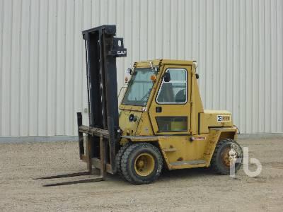 Caterpillar V50e Forklift Specs