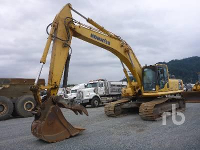 Komatsu PC200-8M0 Hydraulic Excavator Specs & Dimensions :: RitchieSpecs