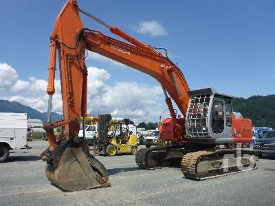 Hitachi ZX240LC-3 Hydraulic Excavator Specs & Dimensions :: RitchieSpecs