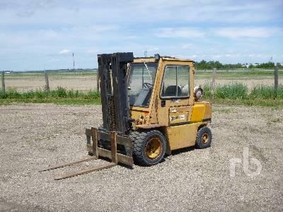 Caterpillar GC70K Forklift Specs & Dimensions :: RitchieSpecs