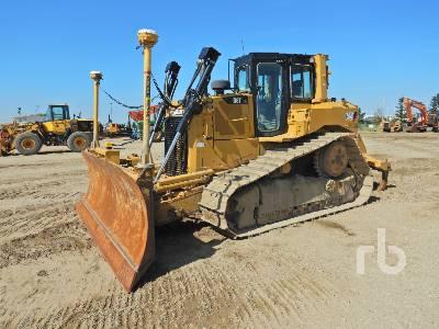 Caterpillar D6T XW Crawler Tractor Specs & Dimensions