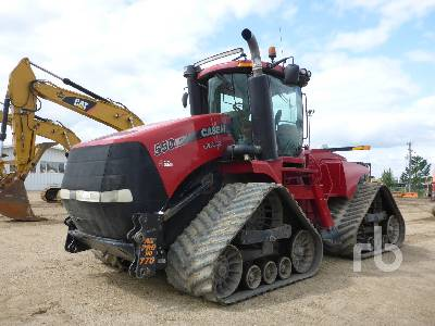 Case 550 Steiger Crawler Tractor Specs & Dimensions