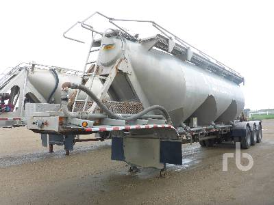 2000 HEIL 1203 Cu Ft Frac Sand Pneumatic Bulk Trailer