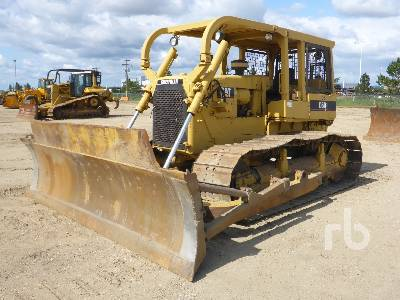 Caterpillar D6D Crawler Tractor Specs & Dimensions