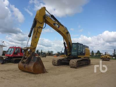 Caterpillar 349E L Hydraulic Excavator Specs & Dimensions