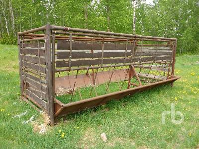 18 Ft Skid Mounted Livestock Feeder | Ritchie Bros  Auctioneers