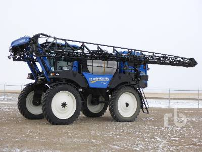 2017 NEW HOLLAND SP.295F 135 Ft High Clearance Sprayer