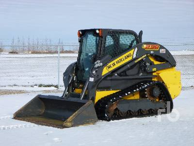 2017 NEW HOLLAND C238 2 Spd High Flow Multi Terrain Loader