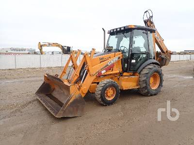 2002 CASE 580SM 4x4 Loader Backhoe
