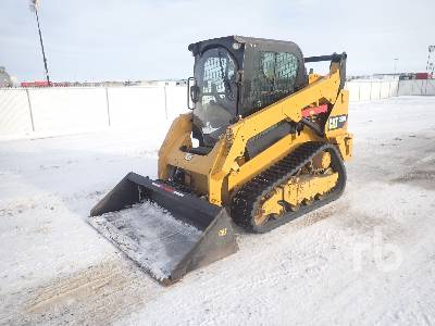 2015 CATERPILLAR 259B 2 Spd Multi Terrain Loader