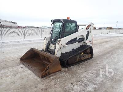 2013 BOBCAT T870 2 Spd Multi Terrain Loader