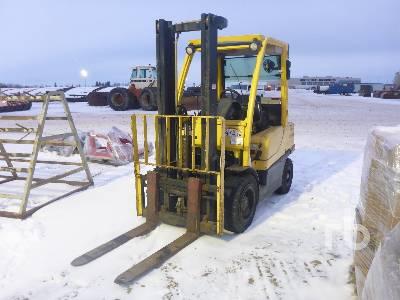1983 HYSTER H60FT 5800 Lb Forklift