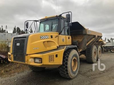 2005 JOHN DEERE 300D 6x6 Articulated Dump Truck