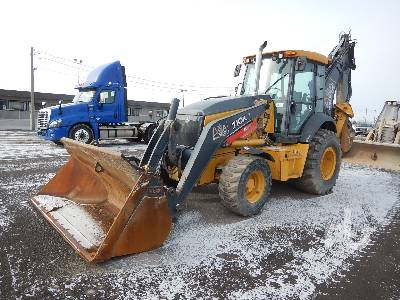 2015 JOHN DEERE 710K 4x4 Loader Backhoe