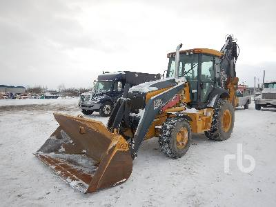 2012 JOHN DEERE 710K 4x4 Loader Backhoe