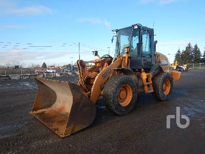 2001 CASE 521D Wheel Loader