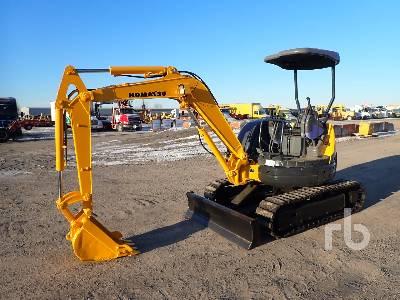 2001 KOMATSU PC30MR-1 Mini Excavator (1 - 4.9 Tons)