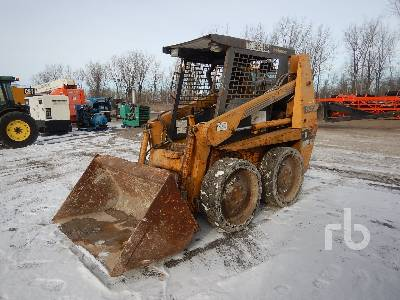 1995 CASE 1835C Skid Steer Loader