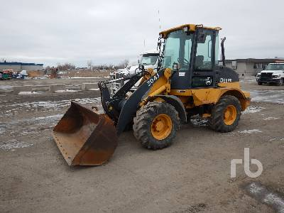 2007 JOHN DEERE 304J Wheel Loader
