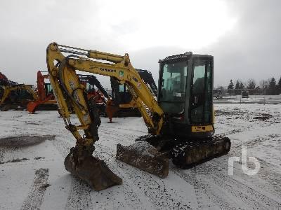 2011 YANMAR VIO35-5B Mini Excavator (1 - 4.9 Tons)