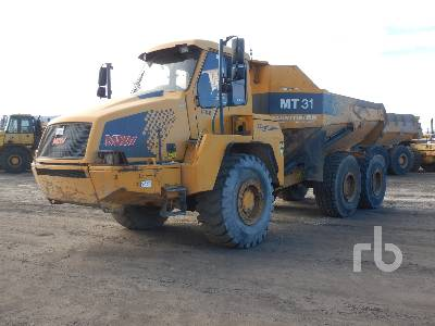 2008 MOXY MT-31 6x4 Articulated Dump Truck