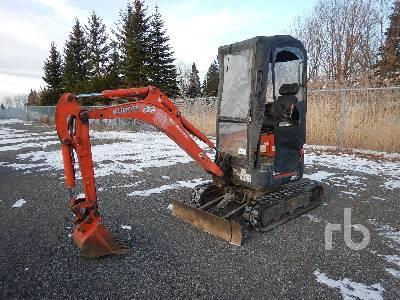 2011 KUBOTA U17 Mini Excavator (1 - 4.9 Tons)