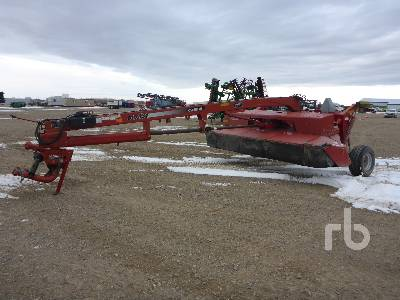 2007 CASE IH DCX131 8 Ft Hydra Swing Disc Mower Conditioner