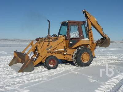 CASE 680K Loader Backhoe